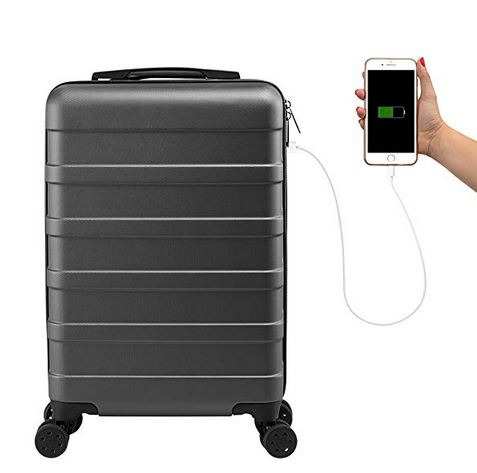 Valise avec chargeur USB Max Anode