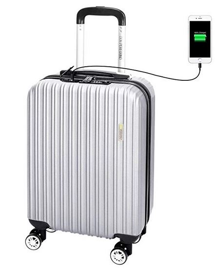Valise avec chargeur USB Don Peregrino