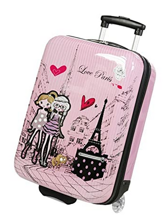 Valise MAdisson Rose Love Paris