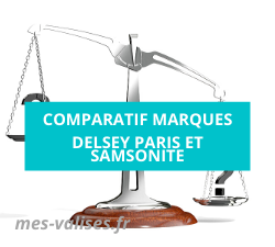 Comparatif Delsey Paris et Samsonite