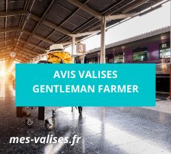 Avis valises Gentleman Farmer