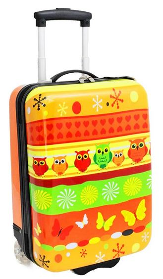 valise Snowball Chouettes Papillons