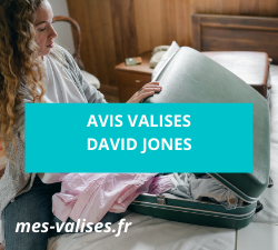 Avis sur les valises David Jones
