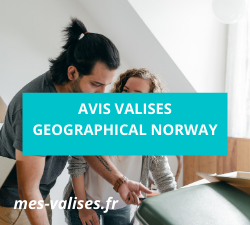 Avis valises Geographical Norway