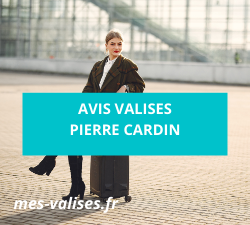 Avis valises Pierre Cardin