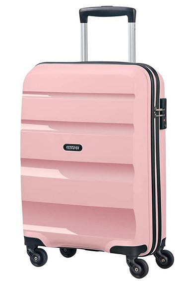 Valise cabine American Tourister rose