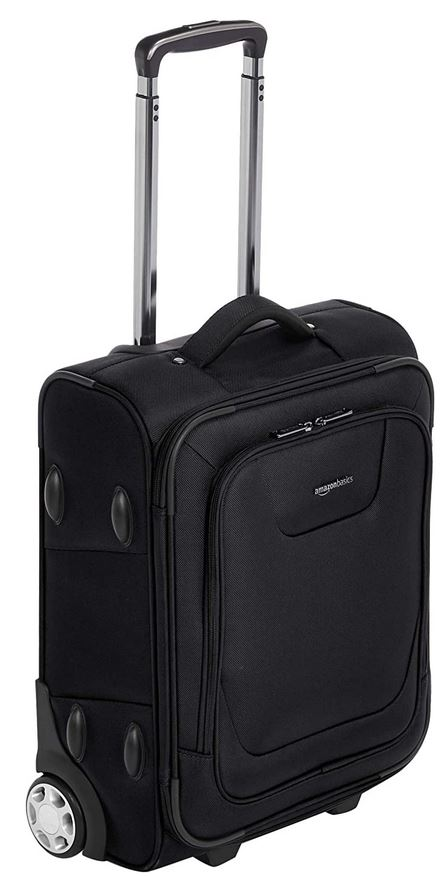 valise AmazonBasics souple extensible